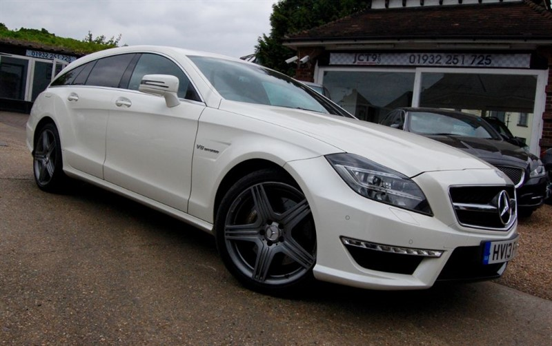 used Mercedes CLS CLS63 AMG   OVER 8K OPTIONS   FMBSH in shepperton-surrey