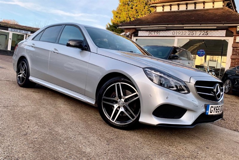 used Mercedes E220 BLUETEC AMG NIGHT EDITION   3K OPTIONS in shepperton-surrey