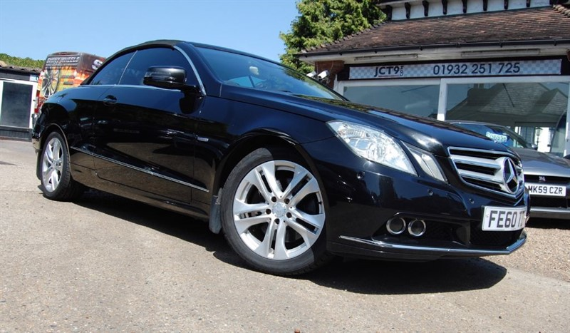 used Mercedes E350 CDI BLUEEFFICIENCY SE   NAV in shepperton-surrey
