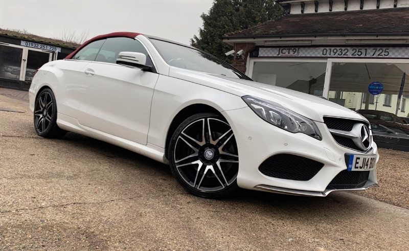 used Mercedes E400 AMG SPORT PLUS + in shepperton-surrey