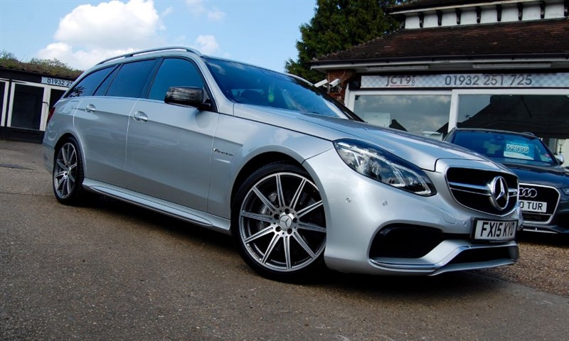 used Mercedes E63 AMG MCT   FMBSH JUST DONE in shepperton-surrey