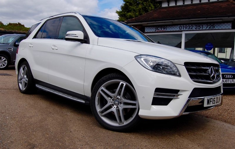 used Mercedes ML350 BLUETEC AMG LINE PREMIUM   FSH in shepperton-surrey