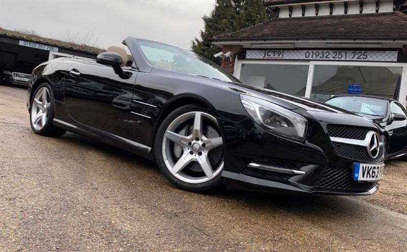used Mercedes SL500 10K OPTIONS in shepperton-surrey