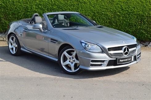 used Mercedes SLK350 BLUEEFFICIENCY AMG SPORT in shepperton-surrey