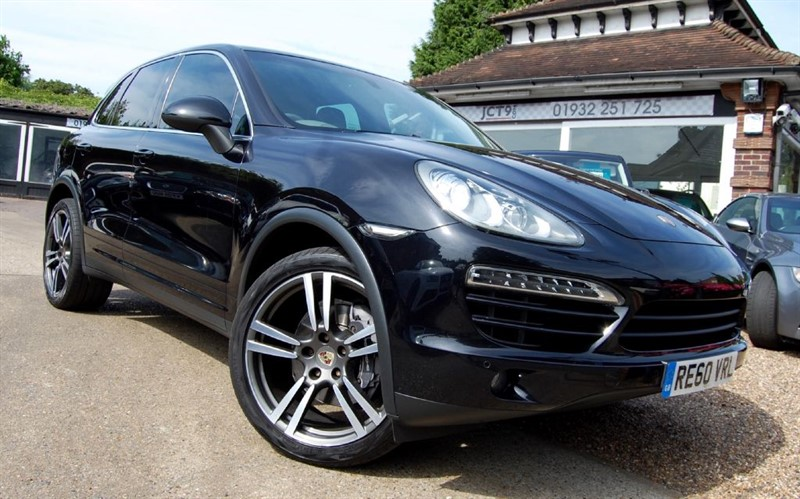 used Porsche Cayenne D V6 TIPTRONIC S   21 inch TURBO II WHEELS + ARCH EXTENSIONS in shepperton-surrey