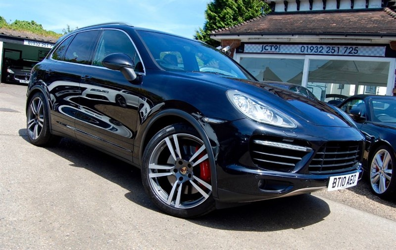 used Porsche Cayenne V8 TURBO TIPTRONIC S    FPSH  16K OPTIONS  OPC CHECK INCLUDED in shepperton-surrey
