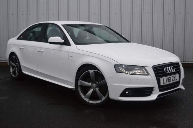 used Audi A4 TDI S LINE BLACK EDITION in wigan-lancashire