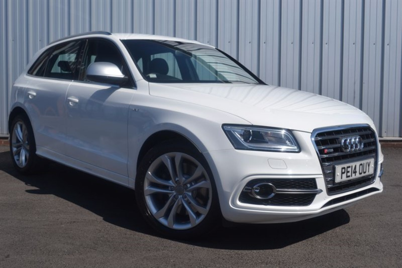 used Audi SQ5 TDI QUATTRO in wigan-lancashire