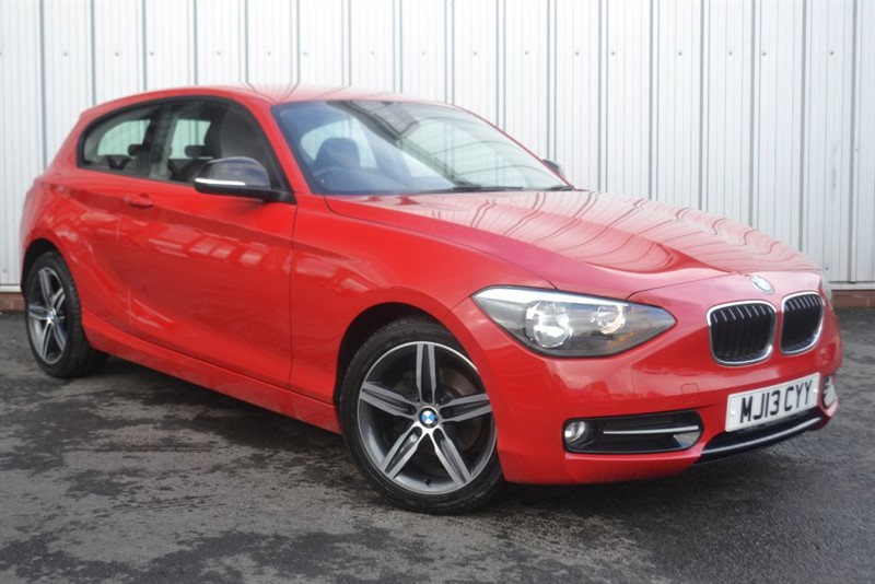 used BMW 114d SPORT in wigan-lancashire
