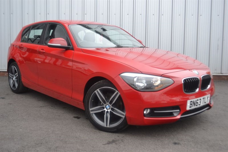 used BMW 116d SPORT +HIGH SPEC+ in wigan-lancashire