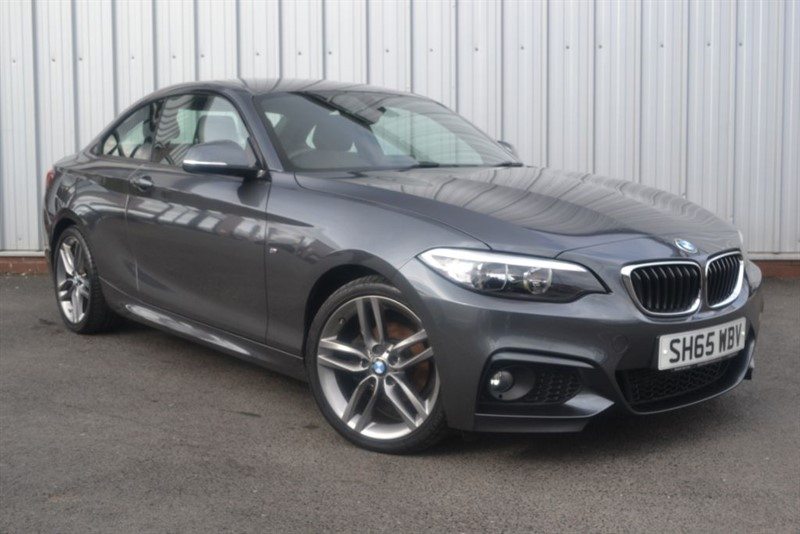 used BMW 218i M SPORT in wigan-lancashire