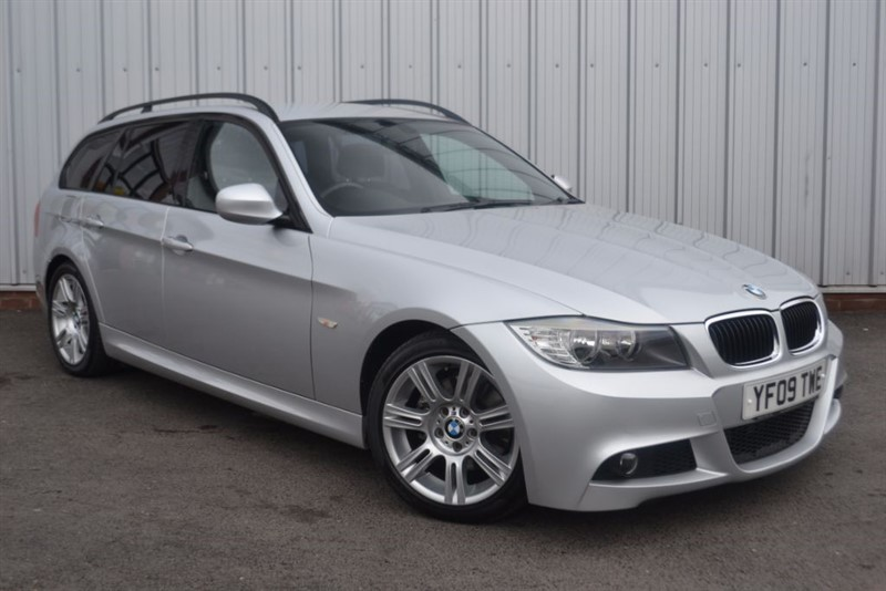 used BMW 318d M SPORT TOURING in wigan-lancashire