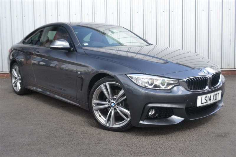 used BMW 420d M SPORT+19 inch wheels, sat nav +heated seats in wigan-lancashire