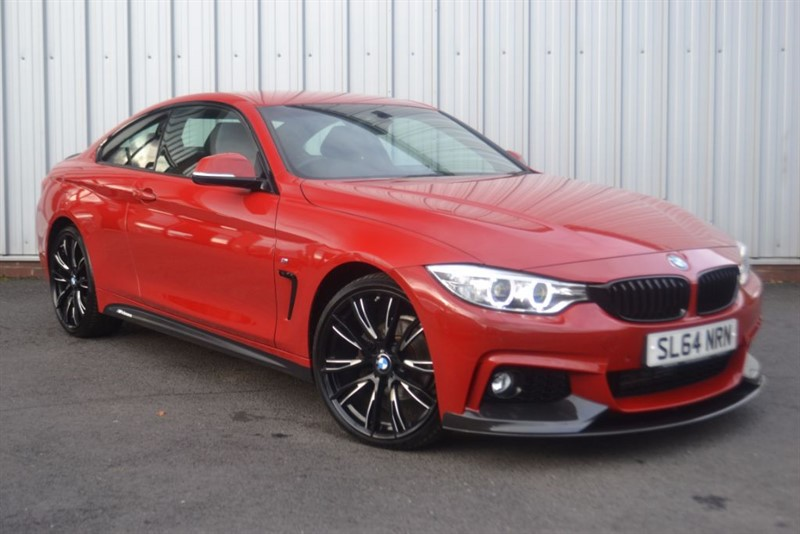 used BMW 420i XDRIVE M SPORT M Performance Aero Pack in wigan-lancashire