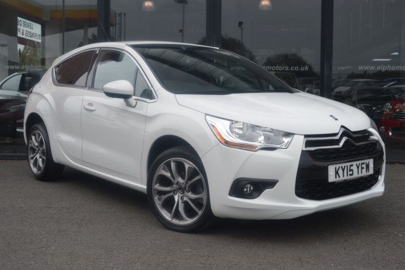 used Citroen DS4 E-HDI DSTYLE in wigan-lancashire