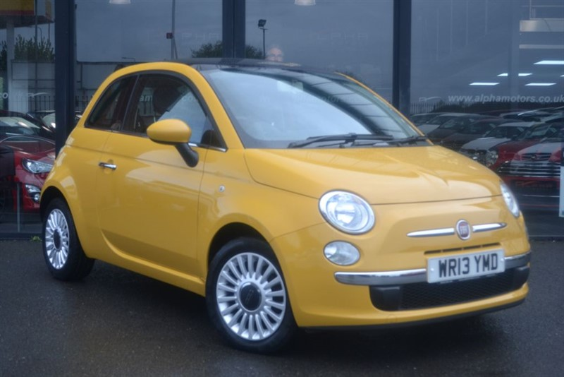 used Fiat 500 LOUNGE in wigan-lancashire