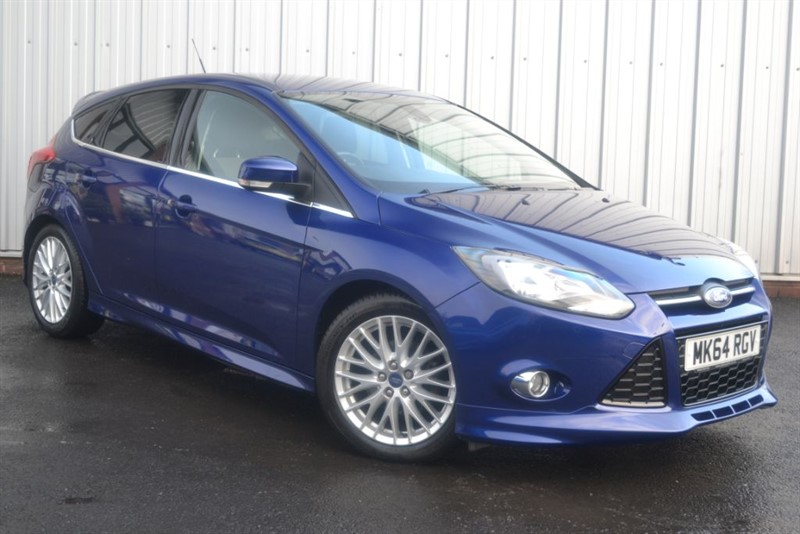 used Ford Focus ZETEC S S/S in wigan-lancashire