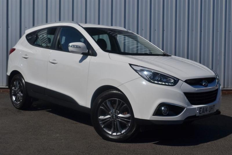 used Hyundai ix35 SE CRDI in wigan-lancashire
