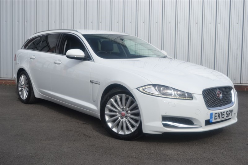 used Jaguar XF D LUXURY SPORTBRAKE in wigan-lancashire