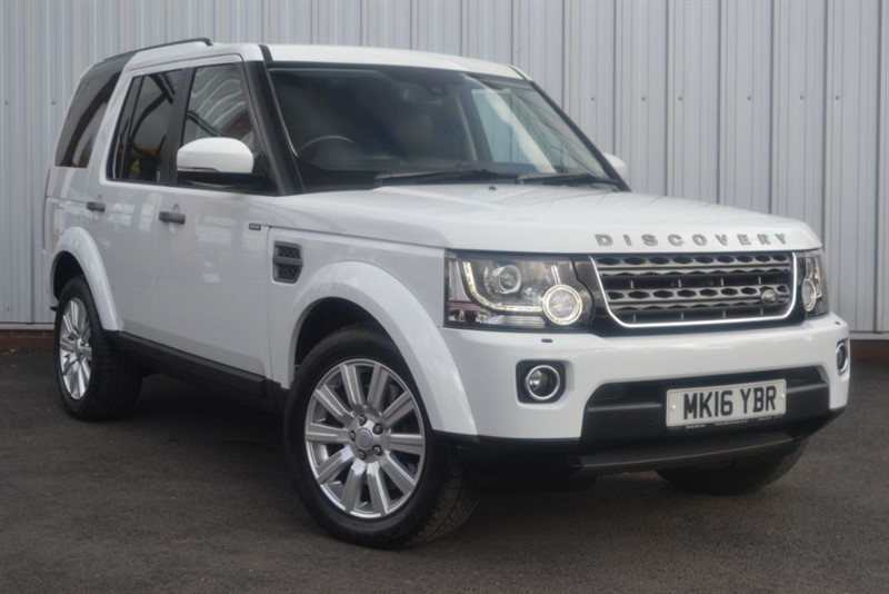 used Land Rover Discovery 4 SDV6 COMMERCIAL SE in wigan-lancashire