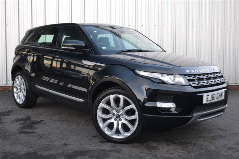 used Land Rover Range Rover Evoque SD4 PURE TECH PACK in wigan-lancashire
