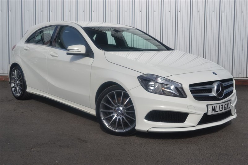 used Mercedes A180 CDI BLUEEFFICIENCY AMG SPORT in wigan-lancashire