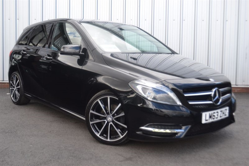 used Mercedes B180 CDI BLUEEFFICIENCY SPORT in wigan-lancashire