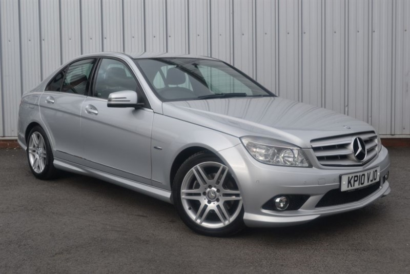 used Mercedes C200 CDI BLUEEFFICIENCY SPORT in wigan-lancashire
