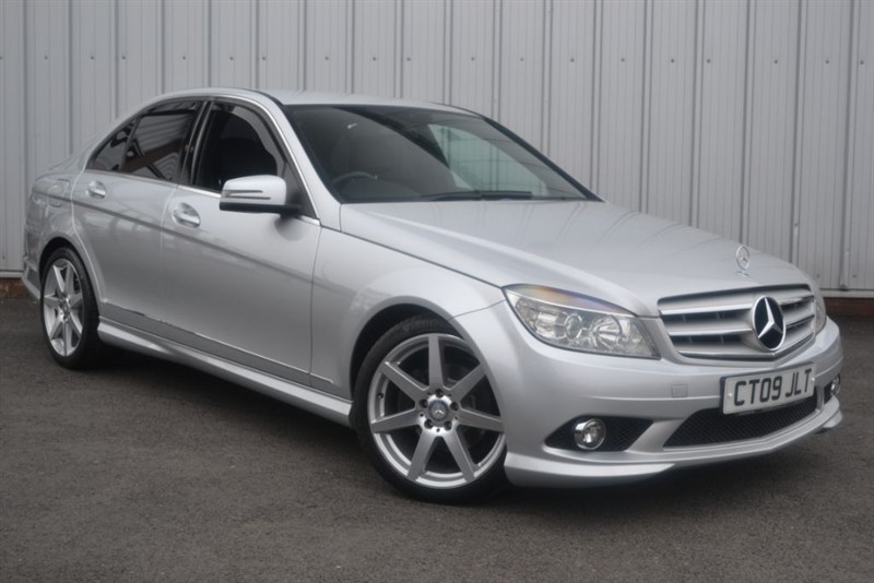 used Mercedes C200 KOMPRESSOR SPORT in wigan-lancashire