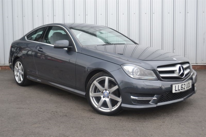 used Mercedes C220 CDI BLUEEFFICIENCY AMG SPORT in wigan-lancashire