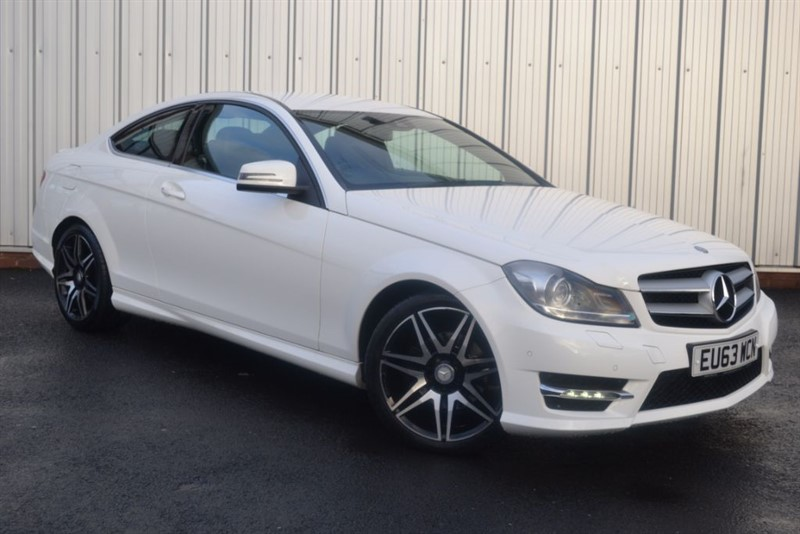 used Mercedes C220 CDI BLUEEFFICIENCY AMG SPORT PLUS in wigan-lancashire
