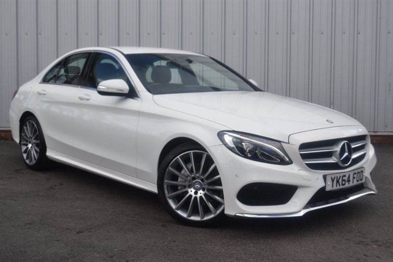 used Mercedes C220 BLUETEC AMG LINE in wigan-lancashire