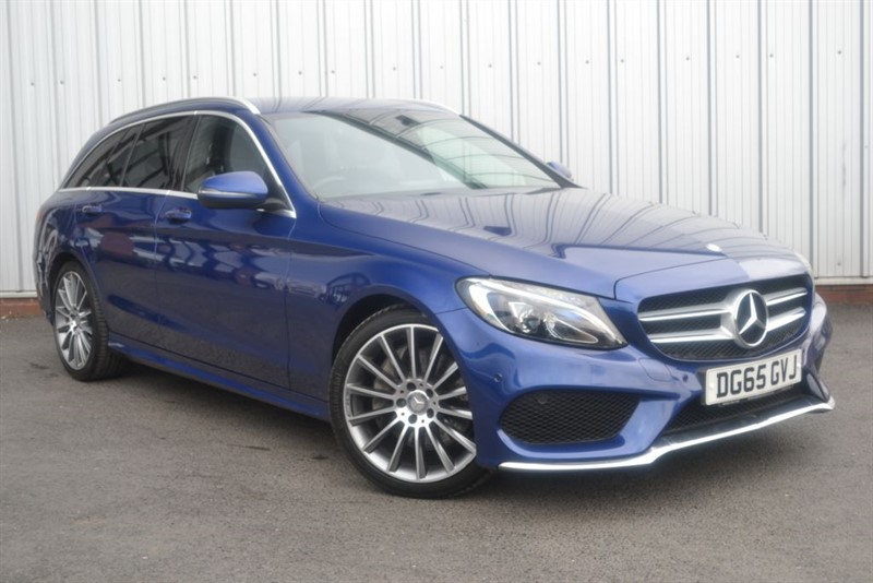 used Mercedes C250 D AMG LINE in wigan-lancashire