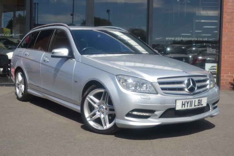 used Mercedes C250 CDI BLUEEFFICIENCY SPORT in wigan-lancashire