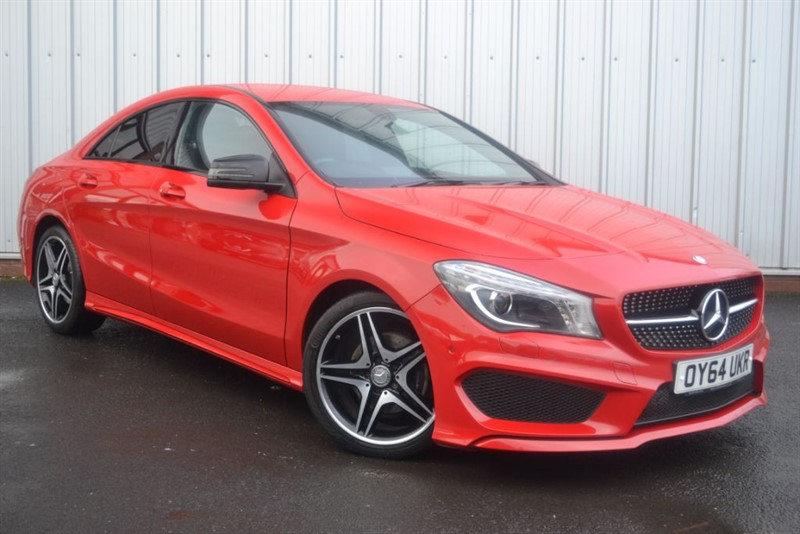 used Mercedes CLA180 AMG SPORT in wigan-lancashire