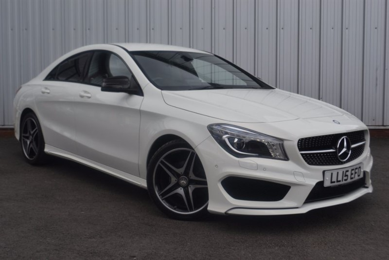 used Mercedes CLA200 CDI AMG SPORT in wigan-lancashire