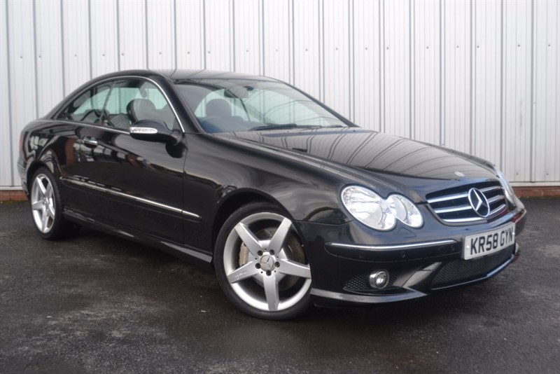 used Mercedes CLK220 CDI SPORT in wigan-lancashire