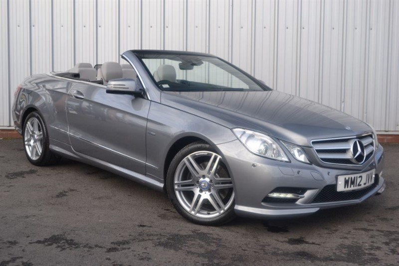 used Mercedes E220 CDI BLUEEFFICIENCY SPORT in wigan-lancashire