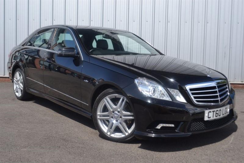 used Mercedes E220 CDI BLUEEFFICIENCY SPORT in wigan-lancashire