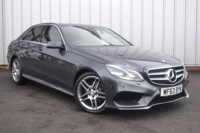 used Mercedes E300 BLUETEC HYBRID AMG SPORT in wigan-lancashire