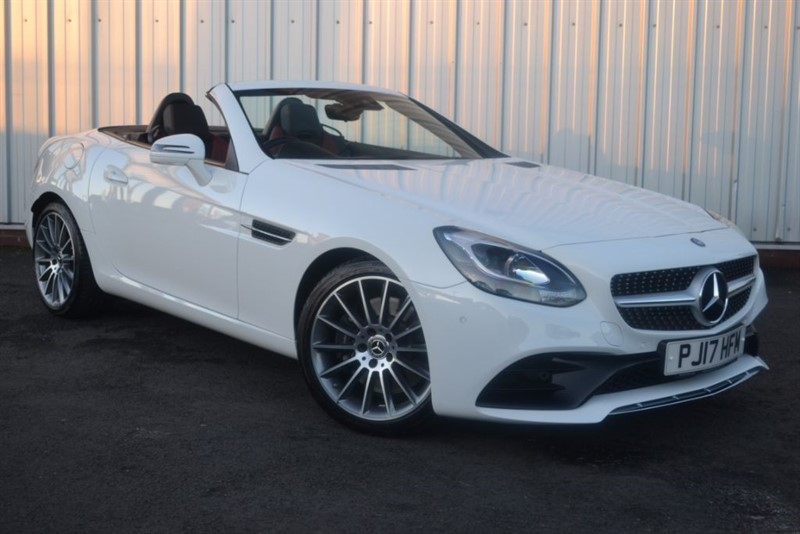 used Mercedes SLC250d AMG LINE in wigan-lancashire