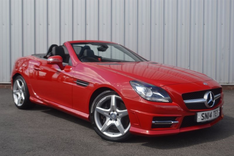 used Mercedes SLK SLK250 CDI BLUEEFFICIENCY AMG SPORT in wigan-lancashire
