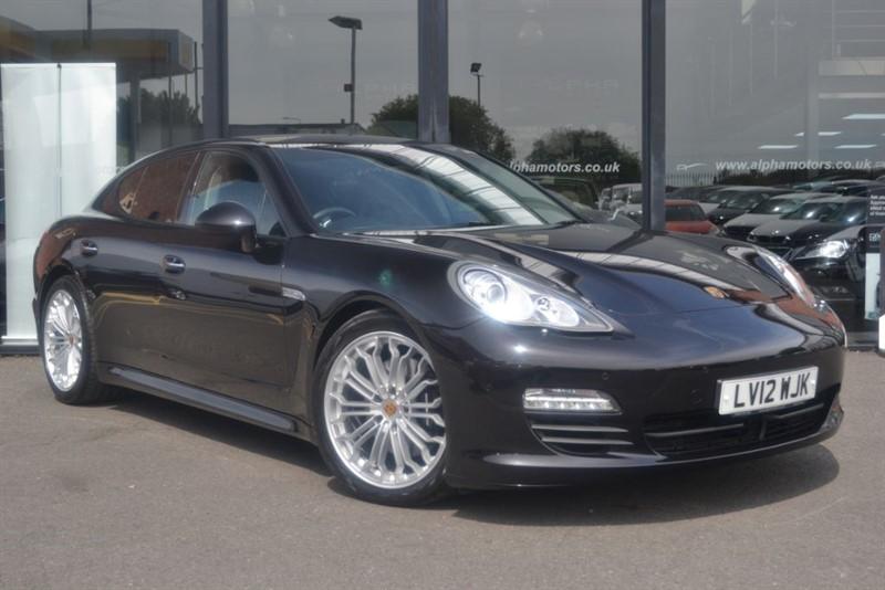 used Porsche Panamera D V6 TIPTRONIC in wigan-lancashire