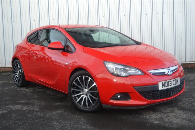used Vauxhall Astra GTC SRI CDTI S/S in wigan-lancashire