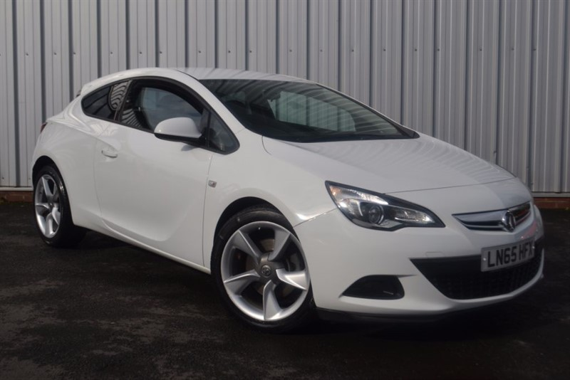 used Vauxhall Astra GTC SPORT Turbo S/S in wigan-lancashire