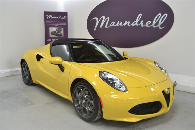used Alfa Romeo 4C TBI SPIDER, VAT Qualifying in oxfordshire