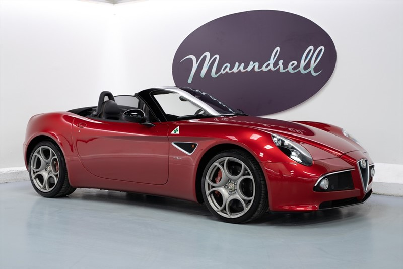 used Alfa Romeo 8C Spider in oxfordshire