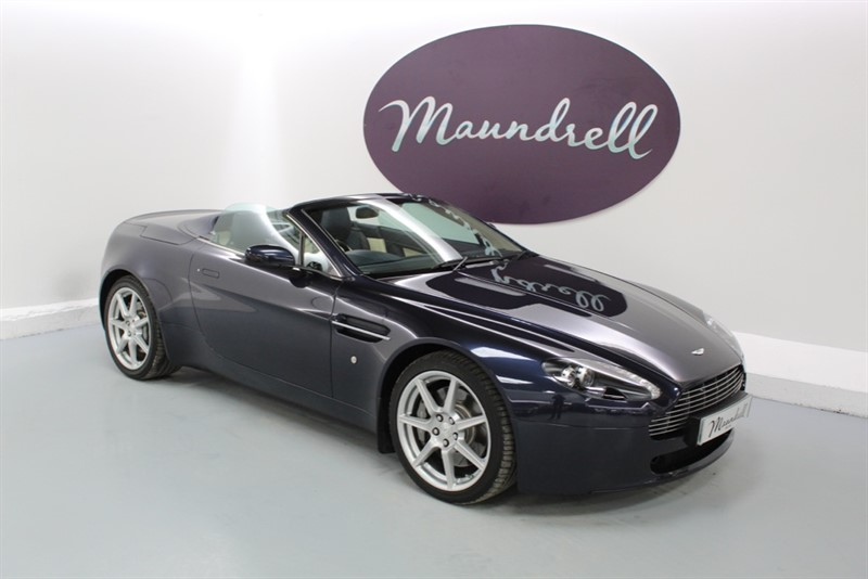 used Aston Martin Vantage V8 ROADSTER in oxfordshire