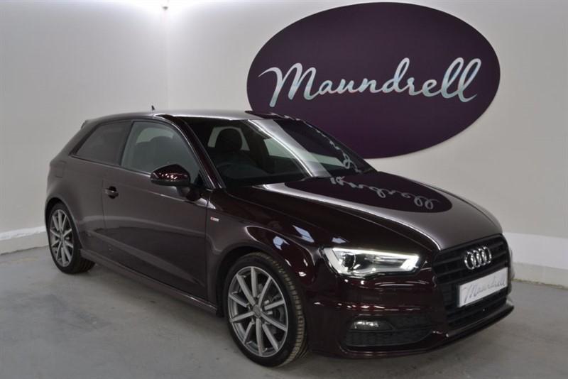 used Audi A3 TFSI S LINE (CoD) NAV, 150PS, Navigation, Park Assist in oxfordshire