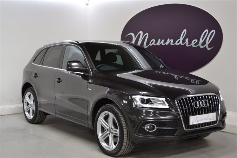 used Audi Q5 TDI QUATTRO S LINE PLUS, Heated Seats, Cruise, Power Tailgate in oxfordshire
